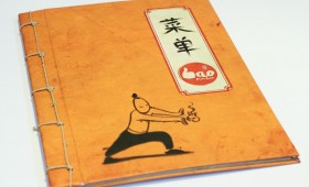 Bao Dimsum Menu Book
