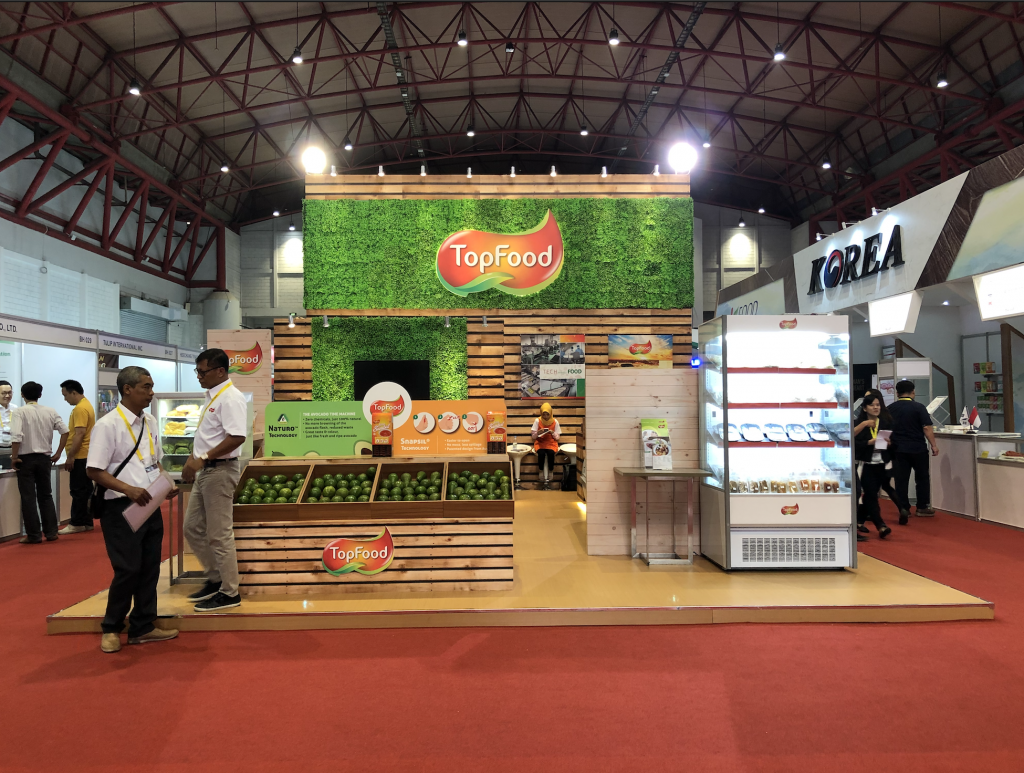Topfood booth on SIAL Interfood 2018